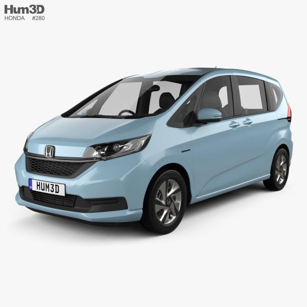 Honda Freed Hybrid 2019 3D model