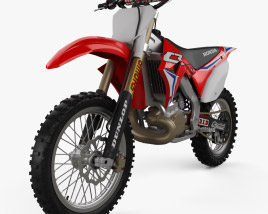3D model of Honda CR250 2002