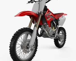 3D model of Honda CR85R 2002