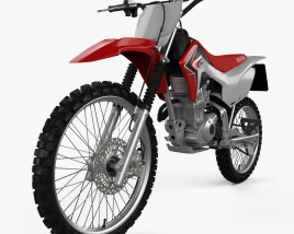 3D model of Honda CRF125F 2013