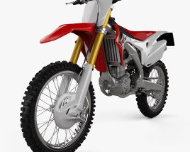 3D model of Honda CRF250R 2014