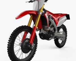3D model of Honda CRF250R 2019
