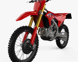 3D model of Honda CRF450R 2021