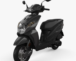 3D model of Honda Dio 2020