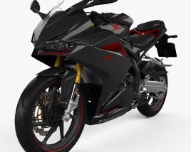 3D model of Honda CBR250RR 2020