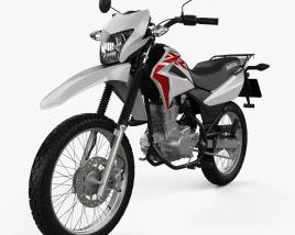 3D model of Honda XR150 L 2020