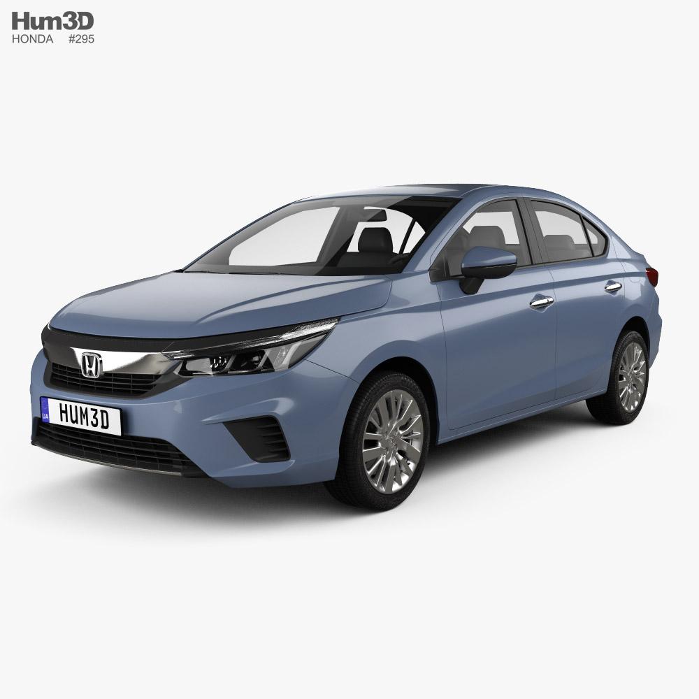 Honda City 2020 3D model