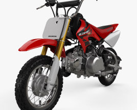 3D model of Honda CRF50F 2004