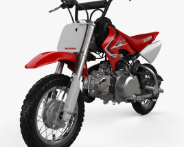 3D model of Honda CRF50F 2014
