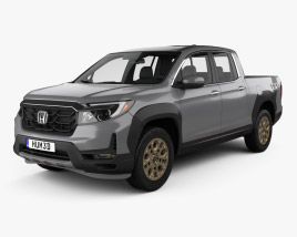 3D model of Honda Ridgeline 2021