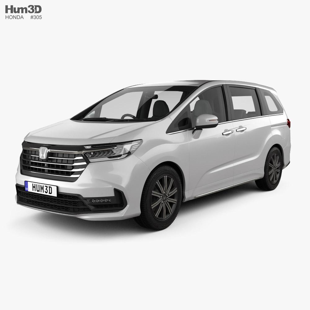 Honda Odyssey Absolute 2021 Modello 3D