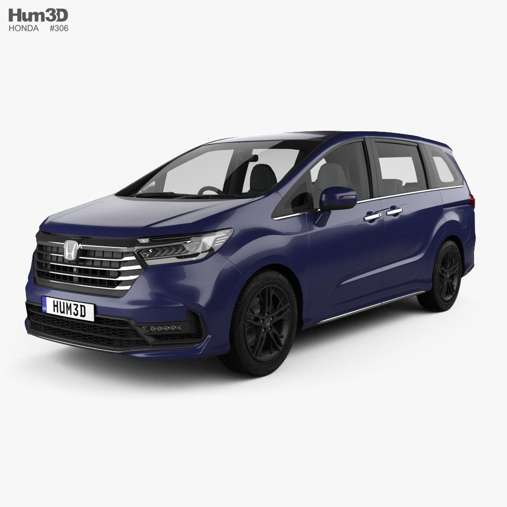 Honda Odyssey e-HEV Absolute EX 2021 Modello 3D