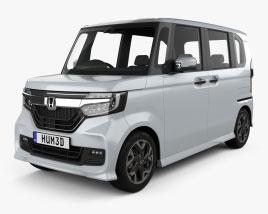 Honda N-Box Custom 2021 3D model