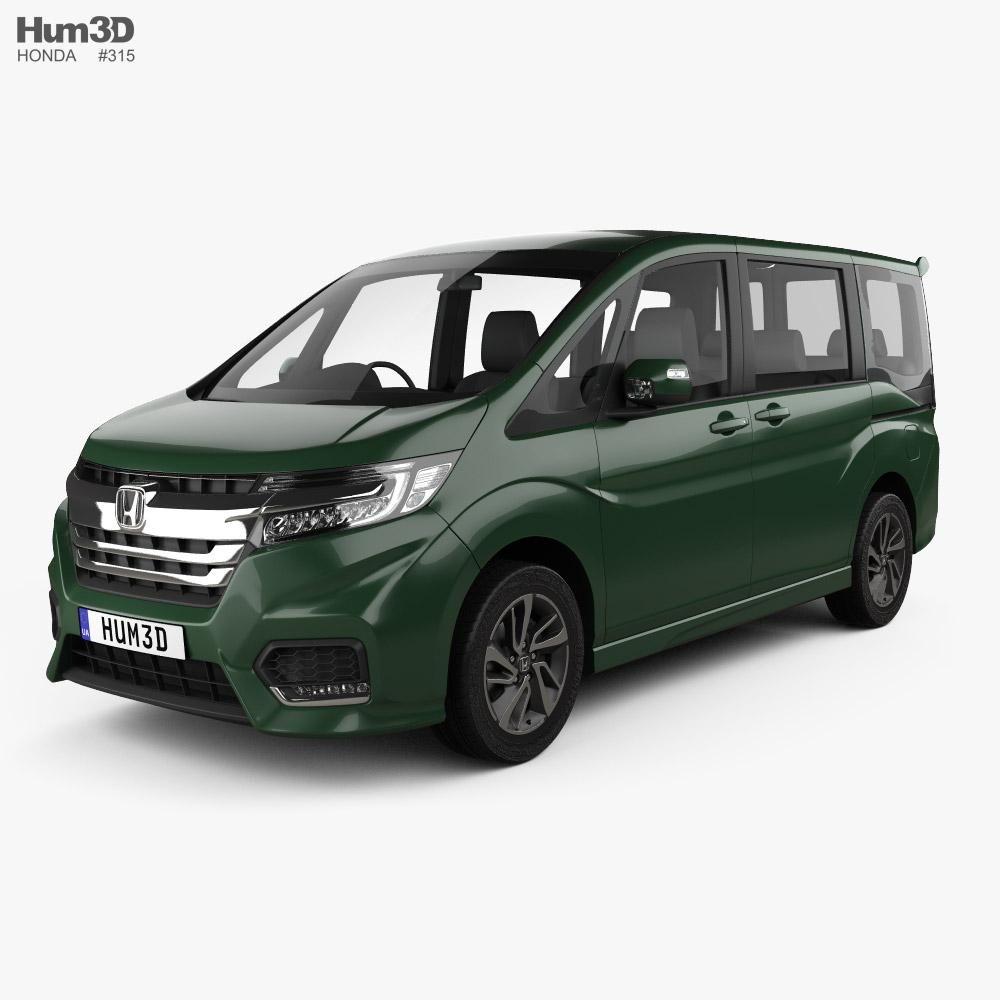 Honda StepWGN Spada eHEV 2021 3D model