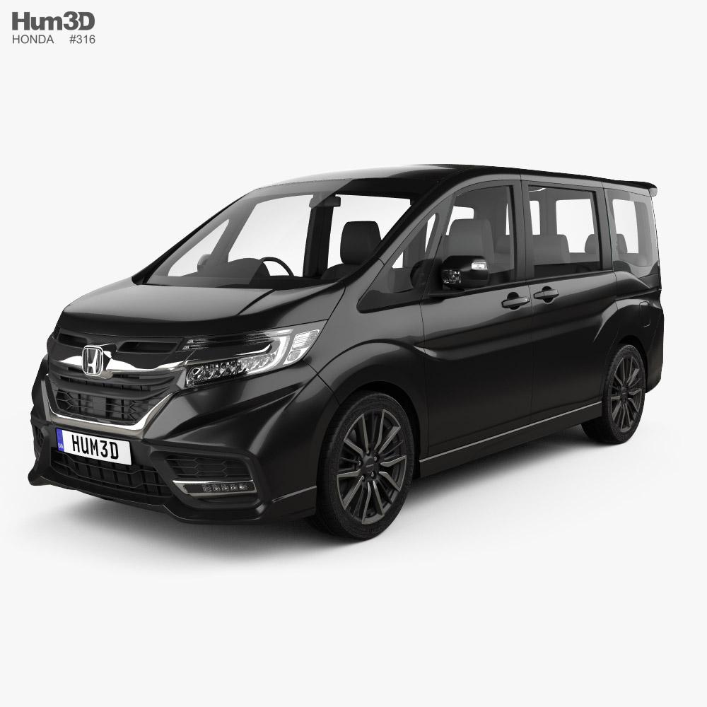 Honda StepWGN ModuloX 2021 3D model
