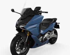 Honda Forza 750 2021 3D model