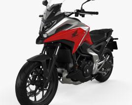 Honda NC750X 2021 3D model