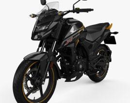 Honda X-Blade 2021 3D model