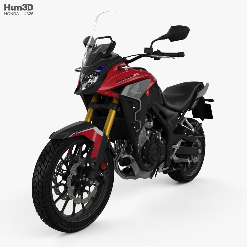 Honda CB500X 2022 3D model