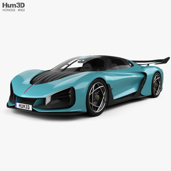 Hongqi S9 2020 3D model