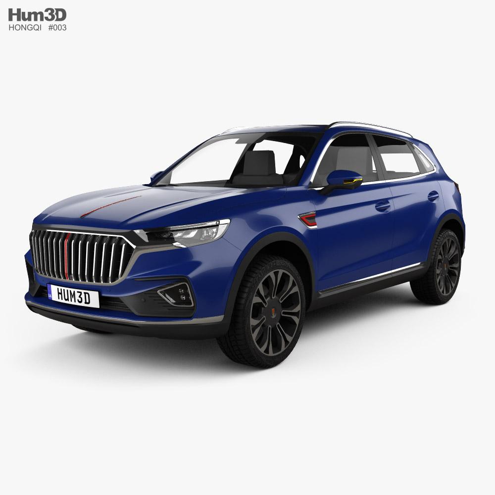Hongqi HS5 2019 3D model