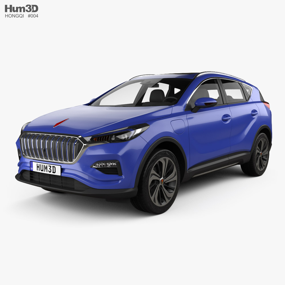 Hongqi E-HS3 2019 3D model