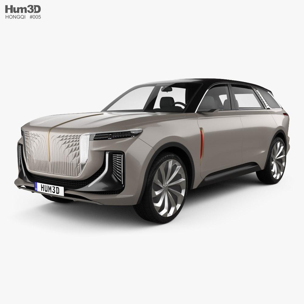 Hongqi E115 2019 3D model