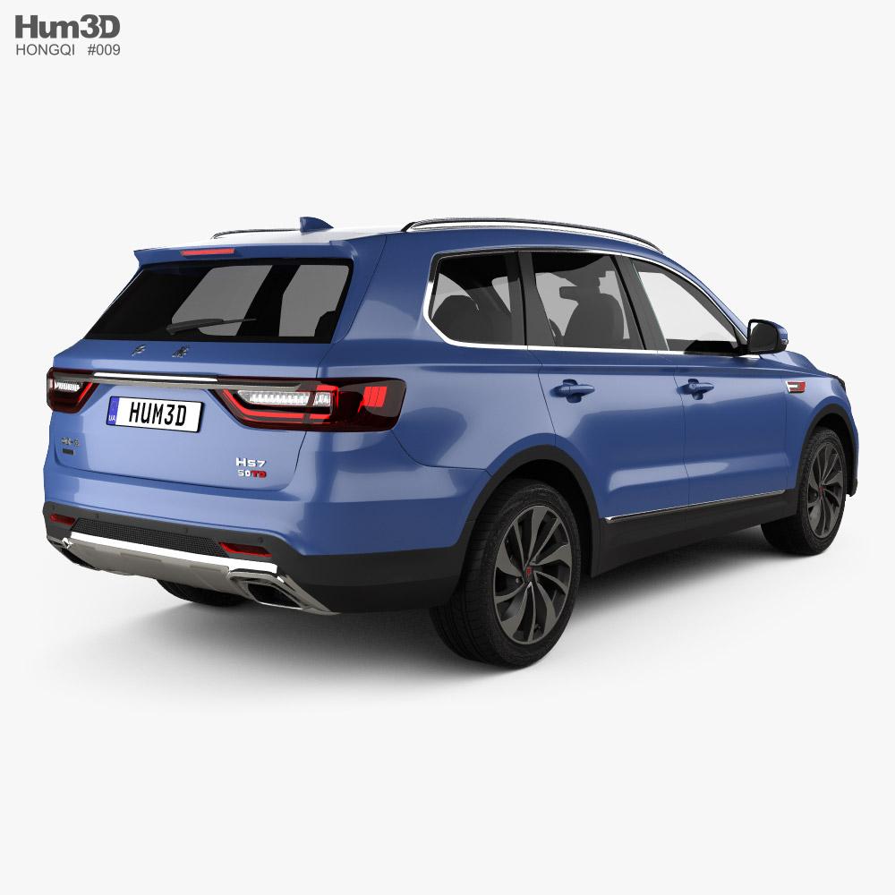 Hongqi HS7 2020 3d model