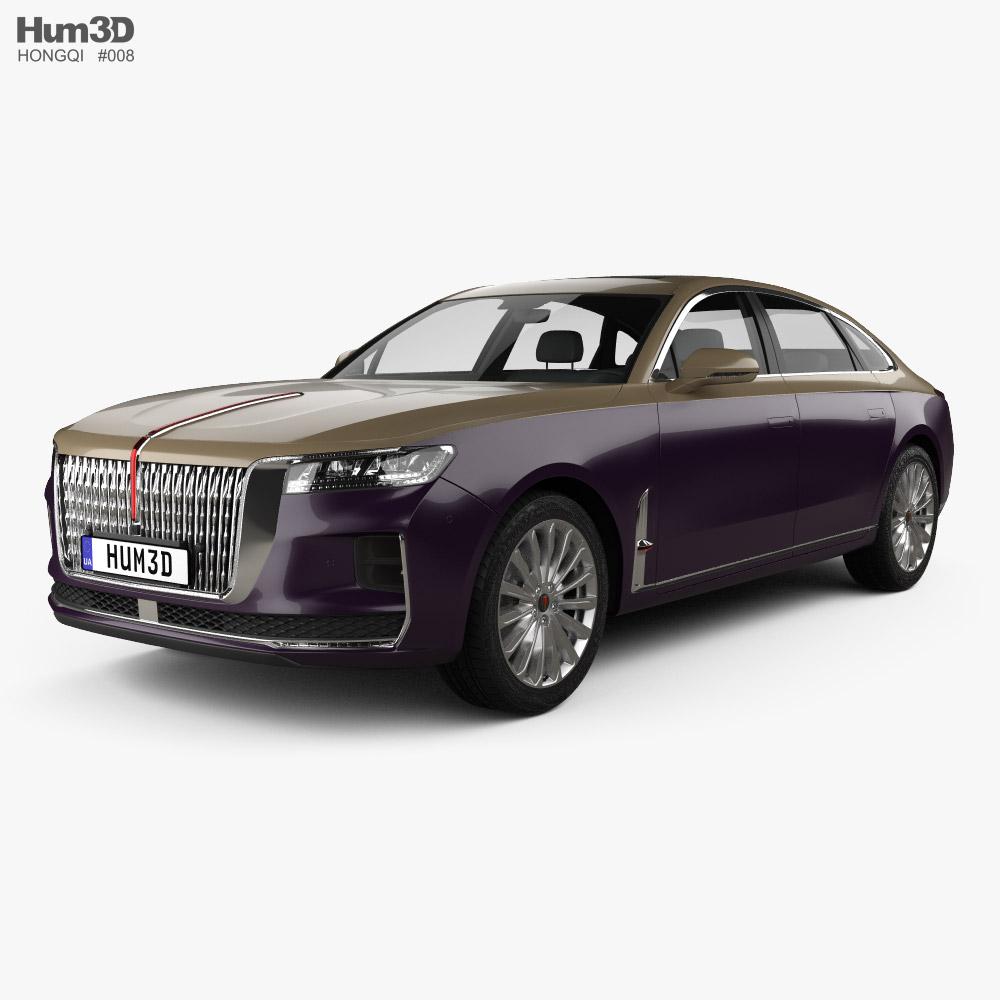 Hongqi H9 2020 3D model