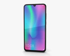 3D model of Honor 10 Lite Midnight Black