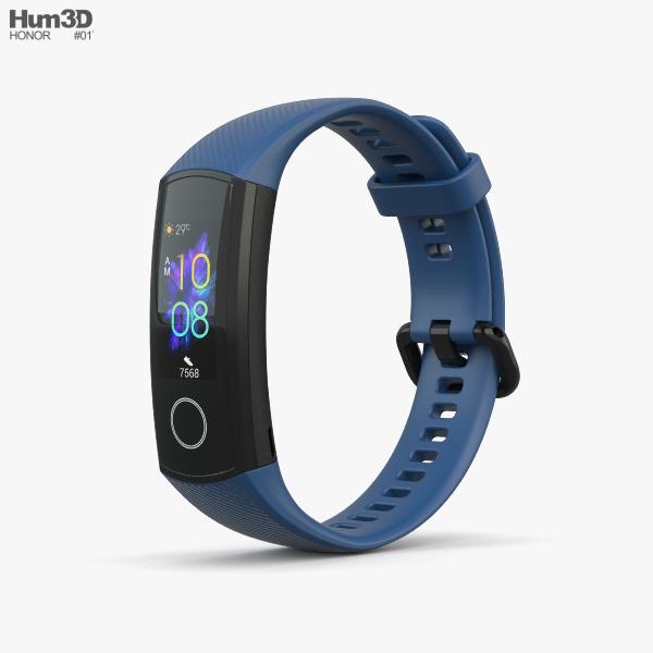 Honor Band 5 Blue 3D model