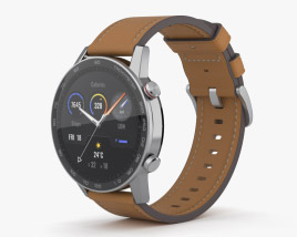 3D model of Honor MagicWatch 2 Flax Brown