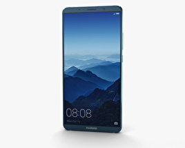 3D model of Huawei Mate 10 Pro Midnight Blue