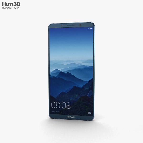 Huawei Mate 10 Pro Midnight Blue 3D model