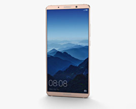 3D model of Huawei Mate 10 Pro Pink Gold