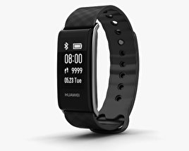 3D model of Huawei Color Band A2 Black