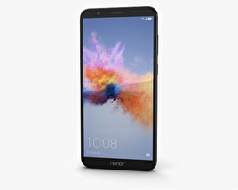 3D model of Huawei Honor 7X Black