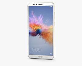 3D model of Huawei Honor 7X Gold