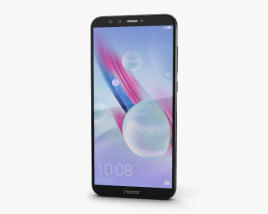 3D model of Huawei Honor 9 Lite Black