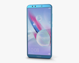 3D model of Huawei Honor 9 Lite Blue