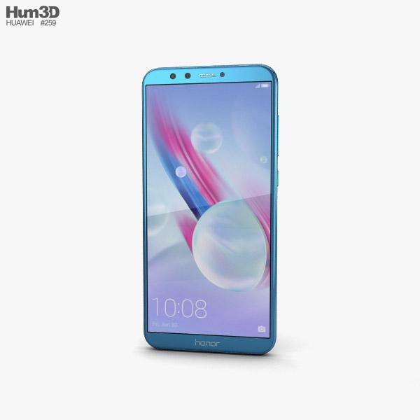 Huawei Honor 9 Lite Blue 3D model