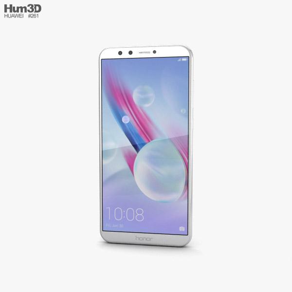 Huawei Honor 9 Lite White 3D model
