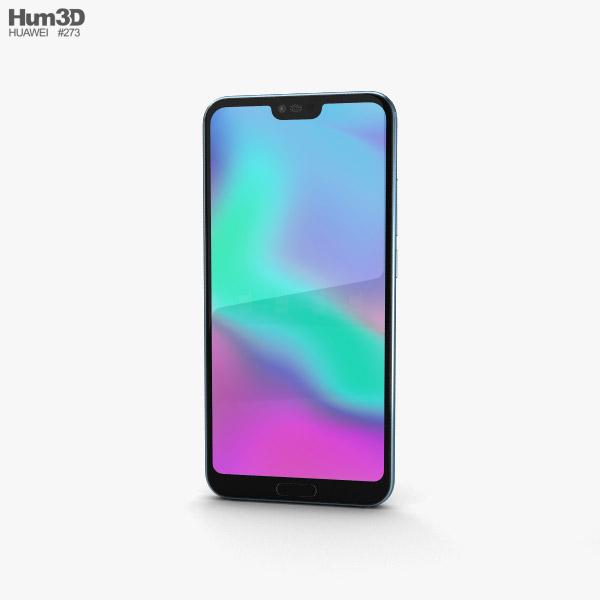 Huawei Honor 10 Glacier Grey 3D model