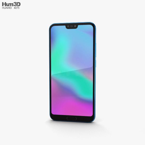 Huawei Honor 10 Phantom Blue 3D model
