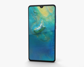 3D model of Huawei Mate 20 Twilight