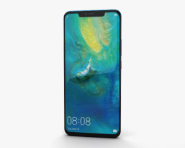3D model of Huawei Mate 20 Pro Twilight