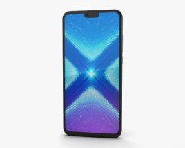 3D model of Huawei Honor 8X Black