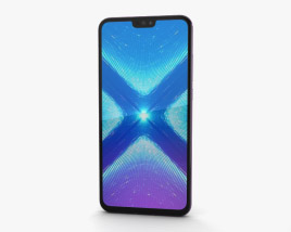 Huawei Honor 8X Pink 3D model