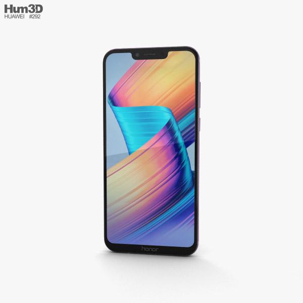 Huawei Honor Play Violet 3D model