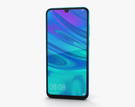 Huawei P Smart (2019) Aurora Blue 3D model